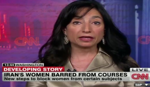 USA:  CNN report: Iran bans women from some college courses