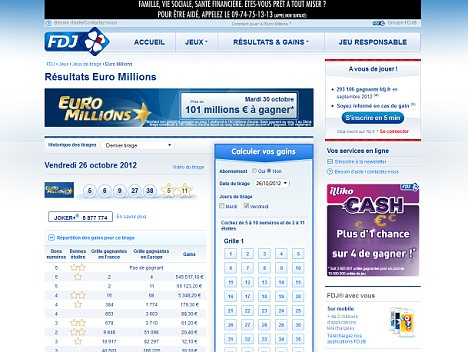 Muslim Hackers attack French Euromillions lottery site calling it 'devil's work' and posting verse from the Koran