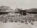 View on the big mosque during a samalat at the Ka-aba
