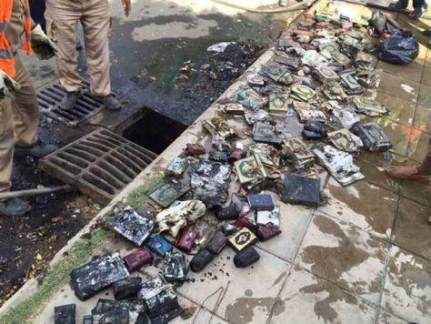 sewage korans